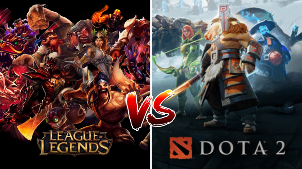 Dota 2 Vs League Of Legends Where The Difference Lies